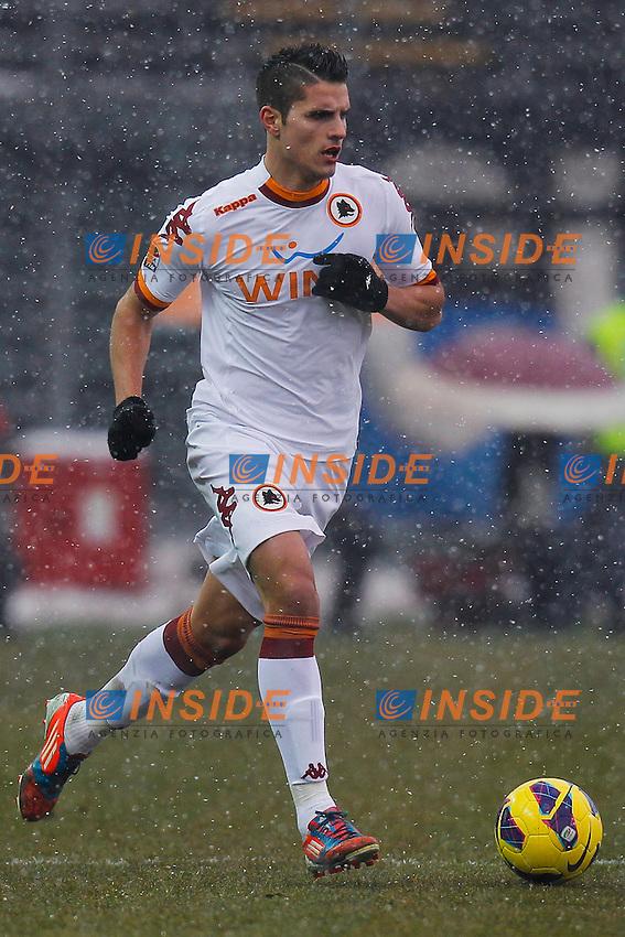 "Erik Lamela Roma, Bergamo 24/2/2013 .Stadio ""Atleti Azzurri d'Italia"".Football Calcio 2012/2013 Serie A.Atalanta Vs Roma.Foto Marco Bertorello Insidefoto"