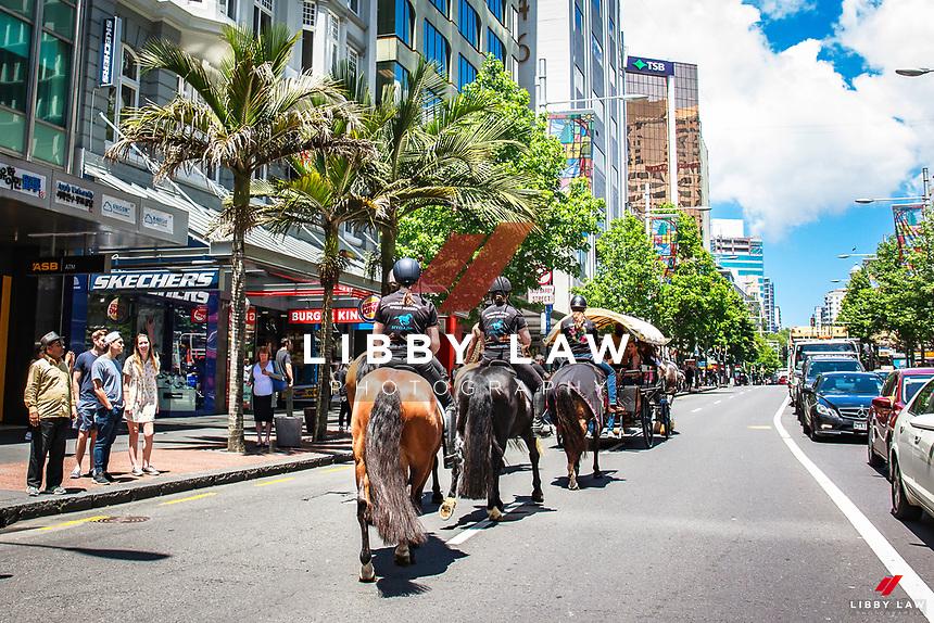 2017 NZL-Equitana Auckland Queen Street Parade. Tuesday 21 November. Copyright Photo: Libby Law Photography