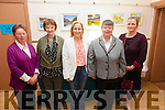 Pictured at the opening of an art exhibition by local artist under the tuition of Artist Anja Gnauck in the Glen Community Centre on Sunday were l-r; Eileen O'Sullivan, Margaret O'Shea, Cllr. Norma Moriarty, Mary Reardon & Anja Gnauck.
