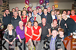 BIRTHDAY SURPRISE: Gretta McCannon, Spa Rd, Tralee (seated 4th left) enjoying her surprise 60th birthday party her husband John organised for her in Kirby's Brogue, Tralee, last Saturday night surrounded by many friends, family and neighbours.