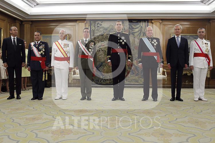 Coronation ceremony in Madrid. King Felipe VI of Spain . June 19 ,2014. (ALTERPHOTOS/EFE/Pool)