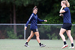 CARY, NC - JUNE 22: Samantha Witteman. The North Carolina Courage held a training session on June 22, 2017, at WakeMed Soccer Park Field 7 in Cary, NC.