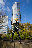 Chat Noir Cosplay, Sakura Con 2016, Seattle, Washington, USA.