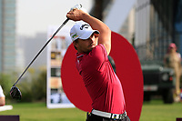 Haydn Porteous (RSA) on the 9th tee during Round 2 of the Omega Dubai Desert Classic, Emirates Golf Club, Dubai,  United Arab Emirates. 25/01/2019<br /> Picture: Golffile | Thos Caffrey<br /> <br /> <br /> All photo usage must carry mandatory copyright credit (© Golffile | Thos Caffrey)