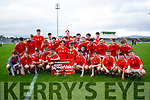 The East Kerry team who won the Minor Football Final over St Brendans at Austin Stack Park on Saturday.