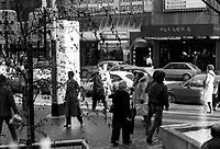 1983 file photo - Montreal, Quebec, CANADA -  street photography on Sainte-Catherine street