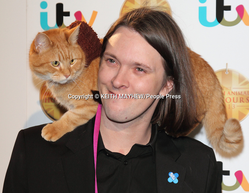 The British Animal Honours at BBC Elstree Studios, Borehamwood, Hertfordshire - April 11th 2013..Photo by Keith Mayhew