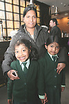 Elizabeth and Sani Saja with Aishwarya at the Launch of The Fatima Girls NS Cookery Book in the Eastern Seaboard Restaurant. .Photo NEWSFILE/Jenny Matthews.(Photo credit should read Jenny Matthews/NEWSFILE)....This Picture has been sent you under the condtions enclosed by:.Newsfile Ltd..The Studio,.Millmount Abbey,.Drogheda,.Co Meath..Ireland..Tel: +353(0)41-9871240.Fax: +353(0)41-9871260.GSM: +353(0)86-2500958.email: pictures@newsfile.ie.www.newsfile.ie.FTP: 193.120.102.198.