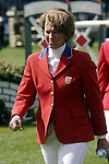 August 07, 2009: Beezie Madden of the US Equestrian Team. Meydan FEI Nations Cup. Failte Ireland Horse Show. The RDS, Dublin, Ireland.