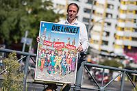 2017/08/30 Politik | Linkspartei | Pascal Meiser-Plakat
