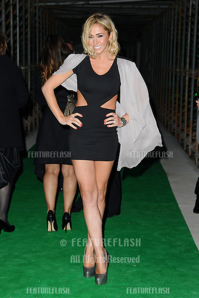 Jenny Frost arriving for the Spectacle Wearer of the Year 2011 Awards, London. 16/11/2011  Picture by: Steve Vas / Featureflash