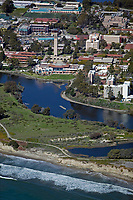aerial photograph of the University of California Santa Barbara campus, Santa Barbara, California