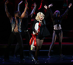 """Christie Brinkley kicks off her third run as """"Roxie Hart"""" in CHICAGO on Broadway at the the Ambassador on April 18, 2019 in New York City."""