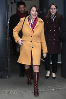 FEB 11 Amy Klobuchar Seen Exiting Good Morning America