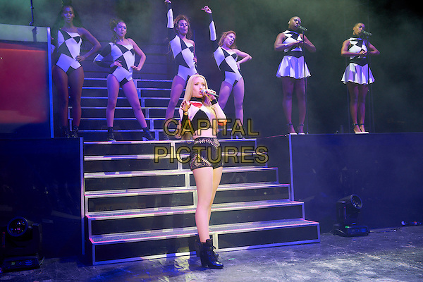 MINNEAPOLIS, MN OCTOBER 17: Iggy Azalea performs at the University of Minnesota Homecoming concert at TCF Bank Stadium on October 17, 2014 in Minneapolis, Minnesota.  <br /> CAP/MPI/RTNNelson<br /> &copy;RTNNelson/MediaPunch/Capital Pictures