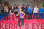 Paola Kennedy and her class showing her Latin moves at her Zumba class in Killarney on Wednesday night