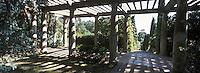 Europe/Provence-Alpes-Côte d'Azur/83/Var/Rayol-Canadel-sur-Mer: Domaine du Rayol - Jardin appartenant au Conservatoire du Littoral - La Pergola