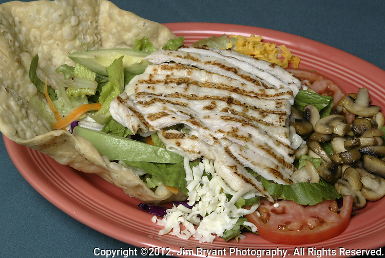 Chicken Fajitas. ©2012. Jim Bryant Photo. All Rights Reserved.