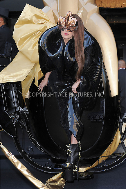 WWW.ACEPIXS.COM . . . . . .September 14, 2012...New York City....Lady Gaga launches  her  first fragrance, LADY GAGA FAME, at Macy's Herald  Square.September 14, 2012 in New York City. ....Please byline: KRISTIN CALLAHAN - WWW.ACEPIXS.COM.. . . . . . ..Ace Pictures, Inc: ..tel: (212) 243 8787 or (646) 769 0430..e-mail: info@acepixs.com..web: http://www.acepixs.com .