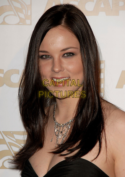ANNA NALIK .Attends The ASCAP Pop Awards held at The Kodak Theatre in Hollywood, California on .April 18th, 2007.headshot portrait silver necklace .CAP/DVS.©Debbie VanStory/Capital Pictures