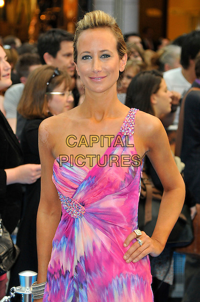 LADY VICTORIA HERVEY .UK Premiere of 'Pirates of the Caribbean: On Stranger Tides' at Vue Cinema, Westfield Shopping Centre, London, England, UK, May 12th 2011..half  length one shoulder pink print dress white hand on hip.CAP/CAS.©Bob Cass/Capital Pictures.