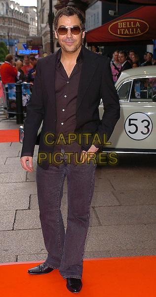 "STEVE BROOKSTEIN.""Herbie: Fully Loaded"" UK Premiere, Vue West End, WC2..July 28th, 2005.full length sunglasses shades jeans denim black suit jacket.www.capitalpictures.com.sales@capitalpictures.com.©Capital Pictures"