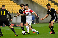ISPS Handa Premiership - Wellington Phoenix v Waitakere United at Westpac Stadium, Wellington, New Zealand on Saturday 3 November 2018. <br />