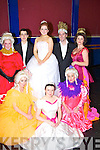 Cinderella (Aisling O'Carroll) surrounded by her sisters, step mother, The prince, and princess on Saturday Jonathan Ryan, Grainne O'Carroll, Brian Hurley, Marie Jones, Miriam Owens, Amy Stone and Martina McCarthy............................... ..............................   Copyright Kerry's Eye 2008