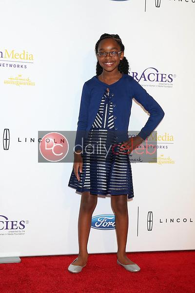 Marsai Martin<br /> at the 41st Annual Gracie Awards Gala, Beverly Wilshire Hotel, Beverly Hills, CA 05-24-16<br /> David Edwards/DailyCeleb.com 818-249-4998