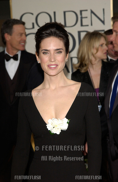 Actress JENNIFER CONNELLY at the 59th Annual Golden Globe Awards in Beverly Hills..20JAN2002.© Paul Smith/Featureflash