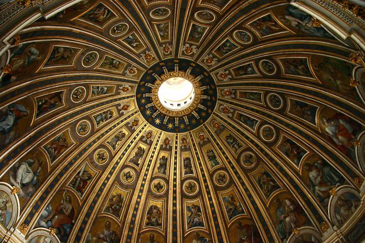 A Vatican dome