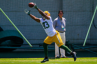 Green Bay Packers running back William Stanback (43) during an OTA on June 1, 2017 at Clark Hinkle Field in Green Bay, Wisconsin. (Brad Krause/Krause Sports Photography)