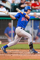 May 18, 2009:  Nate Spears of the Iowa Cubs, Pacific Cost League Triple A affiliate of the Chicago Cubs, during a game at the Spring Mobile Ballpark in Salt Lake City, UT.  Photo by:  Matthew Sauk/Four Seam Images