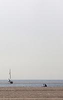 SANTA MONICA-ESTADOS UNIDOS. Las Playas de Santa Monica es uno de los mas importantes atractivos turisticos de esta ciudad del condado de Los Angeles.  Photo: VizzorImage