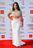 LOS ANGELES, CA. March 30, 2019: Janaye Ingram at the 50th NAACP Image Awards.<br /> Picture: Paul Smith/Featureflash