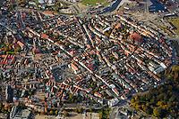 Wismar: EUROPA, DEUTSCHLAND, MECKLEMBURG VORPOMMERN,  (GERMANY), 21.10.2007: Wismar, Mecklenburg, Vorpommern, Stadt, Zentrum, Centrum, Sanierung, Innenstadt, Kirche, Marktplatz, Rathaus,Luftbild, Luftansicht, Aufwind-Luftbilder.. c o p y r i g h t : A U F W I N D - L U F T B I L D E R . de.G e r t r u d - B a e u m e r - S t i e g 1 0 2, 2 1 0 3 5 H a m b u r g , G e r m a n y P h o n e + 4 9 (0) 1 7 1 - 6 8 6 6 0 6 9 E m a i l H w e i 1 @ a o l . c o m w w w . a u f w i n d - l u f t b i l d e r . d e.K o n t o : P o s t b a n k H a m b u r g .B l z : 2 0 0 1 0 0 2 0  K o n t o : 5 8 3 6 5 7 2 0 9.C o p y r i g h t n u r f u e r j o u r n a l i s t i s c h Z w e c k e, keine P e r s o e n l i c h ke i t s r e c h t e v o r h a n d e n, V e r o e f f e n t l i c h u n g n u r m i t H o n o r a r n a c h M F M, N a m e n s n e n n u n g u n d B e l e g e x e m p l a r !.