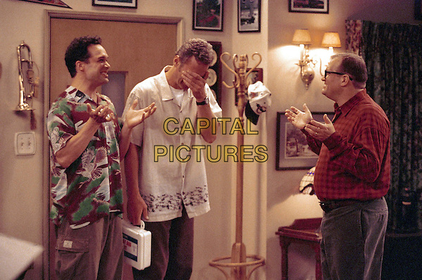 "DIEDRICH BADER, RYAN STILES & DREW CAREY.in The Drew Carey Show.""Married To A Mob"".Ref: FB.*Editorial Use Only*.www.capitalpictures.com.sales@capitalpictures.com.Supplied by Capital Pictures."
