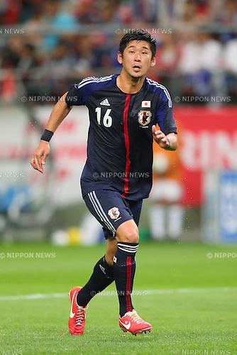 Yuzo Kurihara (JPN), <br /> May 30, 2013 - Football / Soccer : <br /> KIRIN Challenge Cup 2013 <br /> match between Japan 0-2 Bulgaria <br /> at TOYOTA Stadium, Aichi, Japan. <br /> (Photo by Daiju Kitamura/AFLO SPORT)