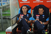 Maurizio Sarri  Calzona during the  italian serie a soccer match, AS Roma -  SSC Napoli       at  the Stadio Olimpico in Rome  Italy , 14 ottobre 2017