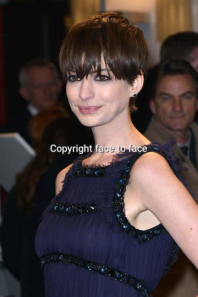 "Anne Hathaway attending ""Les Miserables"" Premiere at Friedrichstadtpalast, Berlin, 09.02.2013...Credit: Michael Timm/face to face"