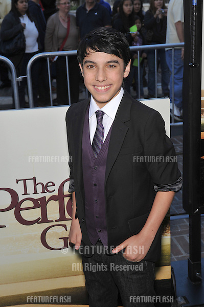 "Gabriel Morales at the premiere of ""The Perfect Game"" at The Grove, Los Angeles..April 5, 2010  Los Angeles, CA.Picture: Paul Smith / Featureflash"