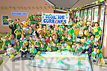 Curranes NS Castleisland going wild with excitement for the kerry team at their school on Wednesday   Copyright Kerry's Eye 2008