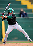 2 May 2008: Binghamton University Bearcats' outfielder Corey Taylor, a Freshman from Vestal, NY, in action against the University of Vermont Catamounts at Historic Centennial Field in Burlington, Vermont. The Catamounts defeated the Bearcats 6-2 in the first game of their weekend series...Mandatory Photo Credit: Ed Wolfstein Photo