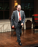 Lewis J. Stadlen during the Curtain Call for the Opening Celebration of 'Checkers' at the Vineyard Theatre in New York City on 11/11/2012