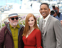 PEDRO ALMODOVAR, JESSICA CHASTAIN AND WILL SMITH - PHOTOCALL OF JURY AT THE 70TH FESTIVAL OF CANNES 2017
