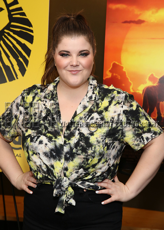 """Ryann Redmond attends the Broadway screening of the Motion Picture Release of """"The Lion King"""" at AMC Empire 25 on July 15, 2019 in New York City."""