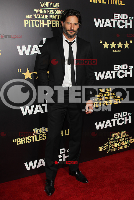LOS ANGELES, CA - SEPTEMBER 17:  Joe Manganiello at the ' 'End of Watch' film premiere at Regal Cinemas L.A. Live on September 17, 2012 in Los Angeles, California. &copy;&nbsp;mpi26/MediaPunch Inc. /NortePhoto<br /> <br /> **CREDITO*OBLIGATORIO** *No*Venta*A*Terceros*<br /> *No*Sale*So*third* ***No*Se*Permite*Hacer Archivo***No*Sale*So*third*