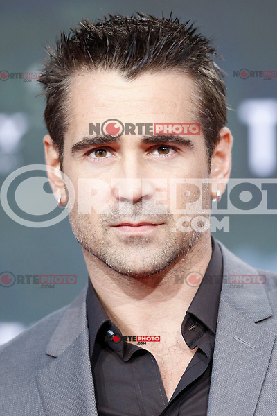 """Actor Colin Farrell attending the germany premiere of the movie """"TOTAL RECALL"""" at CineStar Sony Center in Berlin, Germany, 13.08.2012...Credit: Tomasz Poslada/face to face /MediaPunch Inc. ***FOR USA ONLY*** ***Online Only for USA Weekly Print Magazines*** /NortePhoto.com*<br /> <br /> **CREDITO*OBLIGATORIO** <br /> *No*Venta*A*Terceros*<br /> *No*Sale*So*third*<br /> *** No Se Permite Hacer Archivo**"""