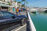 Changed times. Not so long ago getting parked at the marina in Puerto Banus, Marbella, Spain, was a nightmare. This photograph was taken October 2018. 2018101205123 <br />