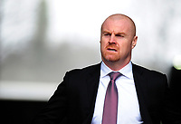 Burnley manager Sean Dyche arrives at the liberty stadium <br /> <br /> Photographer Ashley Crowden/CameraSport<br /> <br /> The Premier League - Swansea City v Burnley - Saturday 10th February 2018 - Liberty Stadium - Swansea<br /> <br /> World Copyright &copy; 2018 CameraSport. All rights reserved. 43 Linden Ave. Countesthorpe. Leicester. England. LE8 5PG - Tel: +44 (0) 116 277 4147 - admin@camerasport.com - www.camerasport.com